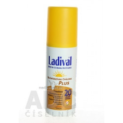 Ladival P+T Plus SPF 20 sprej na ochranu proti slnku 1x150 ml