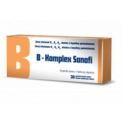 B-Komplex Zentiva tbl flm 1x30 ks