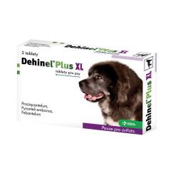 DEHINEL PLUS XL pre psov tablety 2 ks