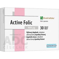 GENERICA Active Folic tablety 30 ks