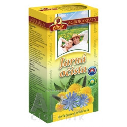 AGROKARPATY Jarná očista bylinný čaj, čistý prírodný produkt, 20x2 g (40 g)