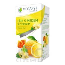 MEGAFYT LIPA S MEDOM A CITRONOM PORC. 20 x 2 g