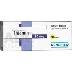 GENERICA Thiamin 50 mg tbl 1x60 ks