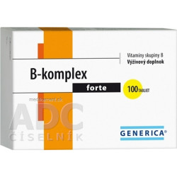 GENERICA B-komplex forte tbl 1x100 ks