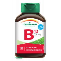 JAMIESON VITAMÍN B12 250 µg tablety 100 ks