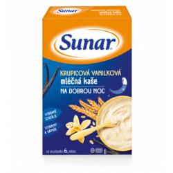SUNAR KAŠIČKA NA DOBRÚ NOC mliečna krupicová vanilková 225 g