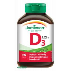JAMIESON VITAMÍN D 1000 IU tablety 100 ks