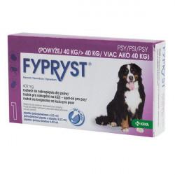 FYPRYST PSY 402 mg NAD 40 KG roztok na kvapkanie na kožu 1 x 4,02 ml