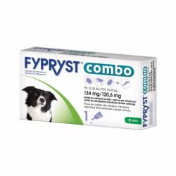 FYPRYST PSY combo 134 mg/120,6 mg 10-20 KG roztok na kvapkanie na kožu 1 x 1,34 ml
