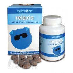relaxis tbl (CANIS  so syrovou príchuťou) 1x60 ks