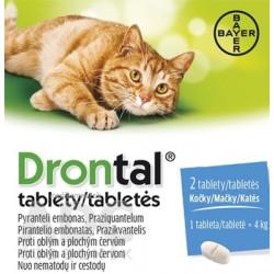 Drontal tablety (pre mačky) tbl 3x8 ks (24 ks)