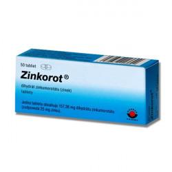Zinkorot 25 mg 50 tabliet