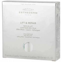 Esthederm Lift & Repair Cellular Care očná maska vo forme náplastí 10 x 2 ks