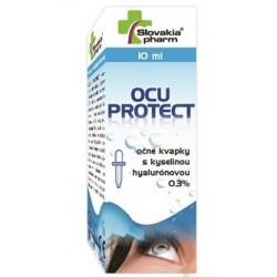 Slovakiapharm OCU PROTECT 0,3% očné kvapky s kys. hyalurónovou 10 ml