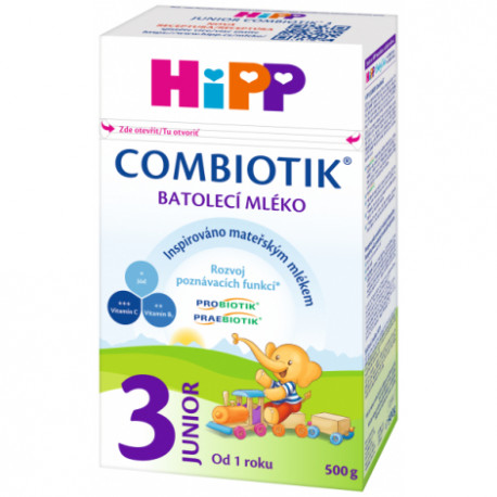 HiPP 3 JUNIOR Combiotik mlieko 500 g
