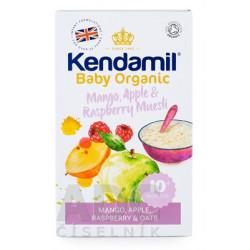 KENDAMIL Organic BIO Kaša ovsená mango - jablko - malina od ukonč. 10.mesiaca 150g