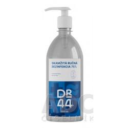 DR.44 OKAMŽITÁ RUČNÁ DEZINFEKCIA antibakteriálny gél (75% etanol) 500 ml