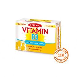TEREZIA Vitamín D3 1000 IU 30 kapsúl