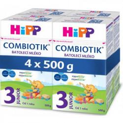 HiPP 3 JUNIOR Combiotik mlieko 4 x 500 g