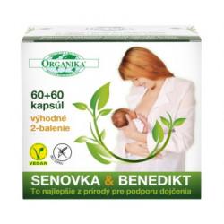 ORGANIKA SENOVKA & BENEDIKT kapsuly 2 x 60 ks
