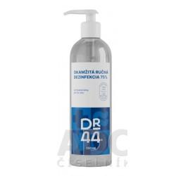 DR.44 OKAMŽITÁ RUČNÁ DEZINFEKCIA antibakteriálny gél (75% etanol) 250 ml