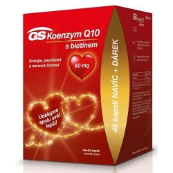 GS Koenzým Q10 60 mg kapsuly 45+45 ks + darček 2021