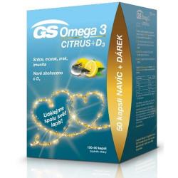 GS Omega 3 CITRUS kapsuly 100+50 ks + darček 2021