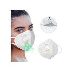 Respirátor FFP2 s filtrom opakovane použiteľný- 1ks biela