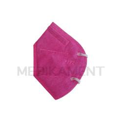 Respirátor FFP2 bez filtra ružový 1 ks