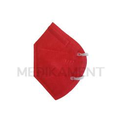 Respirátor FFP2 bez filtra červený 1 ks