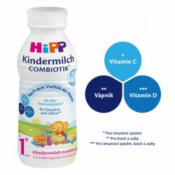 HIPP 3 JUNIOR Combiotik mlieko 470 ml
