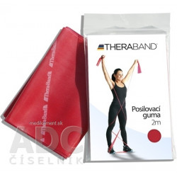 Thera-Band Posilňovacia guma 2m červená 1 ks