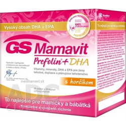 GS Mamavit Prefolin + DHA tbl 30 + cps 30 (inov. 2016) (60 ks), 1x1 set
