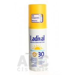 Ladival Transparentný sprej SPF 30 na ochranu proti slnku 1x150 ml