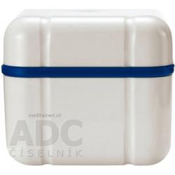 CURADENT BDC 110 nádobka na protézu, orto aparát modrá 1x1 ks