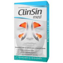CLIN SIN med + irigator sada na výplach nosa, vrecúška 1x16 ks