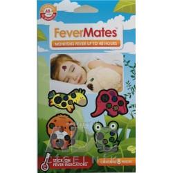 FeverMates monitors nálepkové teplomery 8 ks
