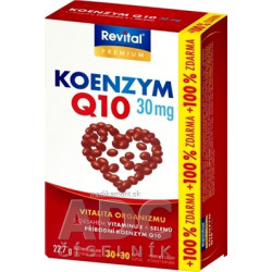 Revital KOENZÝM Q10 30 mg + VITAMÍN E + SELÉN 60 ks
