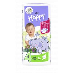 Bella HAPPY 4 MAXI detské plienky 46 ks