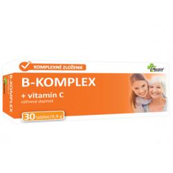 Slovakiapharm B-KOMPLEX + vitamín C 30 tabliet