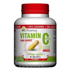 BIO Pharma Vitamín C 500mg Long Effect 120 kapsúl