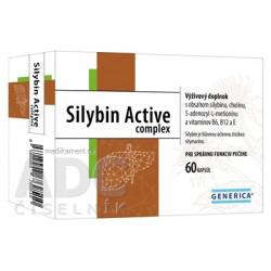 GENERICA Silybin Active complex cps 1x60 ks