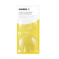 MEDELA Kontaktné dojčiace klobúčiky v krabičke veľkosť S