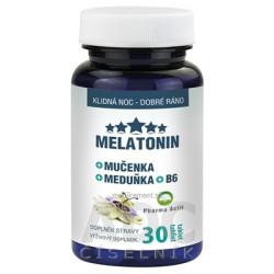 Pharma Activ MELATONIN + Mučenka + Meduňka + B6 tbl (medovka) (inov.2019) 1x30 ks