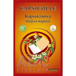 Kapsaicínová hrejivá náplasť CAPSICOLLE 12x18 cm 1x1 ks