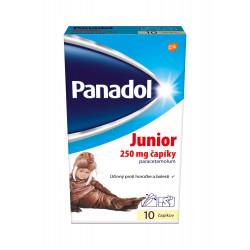 Panadol JUNIOR čapíky 250 mg 10 ks