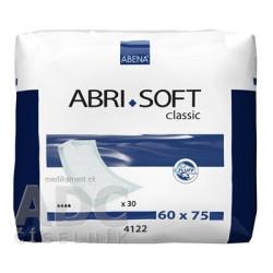 ABENA ABRI SOFT 60x75 cm podložka absorpčná, savosť 1700 ml, 1x30 ks