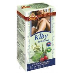AGROKARPATY KĹBY bylinný čaj, čistý prírodný produkt, 20x2 g (40 g)