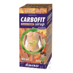CARBOFIT Čárkll Baby sirup 1x100 ml