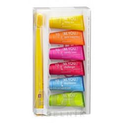 CURAPROX BE YOU 6-pack zubná pasta 6x10 ml + zubná kefka CS 5460 1 set